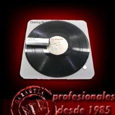 Discos de vinilo: ALFOMBRILLA DE LIMPIEZA PARA DISCOS DE VINILO, DISCOS DE PIZARRA, CD, DVD,BLU-RAY. Lote 179213902