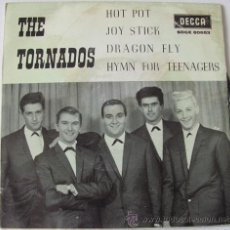 Discos de vinilo: THE TORNADOS - HOT POT - RARO EP ESPAÑOL 1963. Lote 30157122