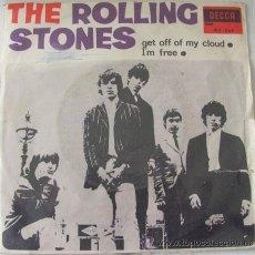 Discos de vinilo: THE ROLLING STONES - GET OFF OF MY CLOUD - SINGLE 1965 - CON EL TRICENTER. Lote 30157127