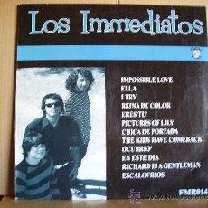 Discos de vinilo: LOS INMEDIATOS --- SAME. Lote 30173649