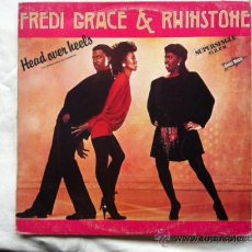 Discos de vinilo: FREDI GRACE & RHINSTONE . HEAD OVER HEELS . MAXISINGLE . 1983 RCA RECORDS ESPAÑA. Lote 30175861