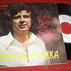 """Discos de vinilo: PEPE ANTEQUERA TOY/ES ESTA LA CANCION 7"""" SINGLE 1974 RCA PROMO EDICION ESPAÑOLA. Lote 30177754"""