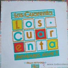 Discos de vinilo: LP - LOS CUARENTA, CONTINUAMOS VOL. 3 - VARIOS - EDICION ITALIANA, FLYING RECORDS 1991. Lote 30178571