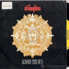 Discos de vinilo: THE STRANGLERS - ALWAYS THE SUN (PROMO DE 1 CARA) EPIC 1986 - VG++/VG++. Lote 30179640