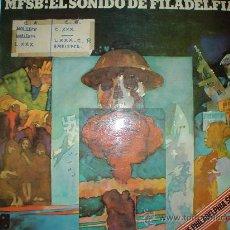 Discos de vinilo: MFSB: EL SONIDO DE FILADELFIA. LP. 1974. SPAIN PIR 65864. DISCO VINILO. Lote 30184332