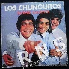 Discos de vinilo: LOS CHUNGUITOS SANGRE CALIENTE - DISCO VINILO LP - MÚSICA RUMBA ESPAÑA AÑOS 70 80 GRUPO ESPAÑOL. Lote 30188296