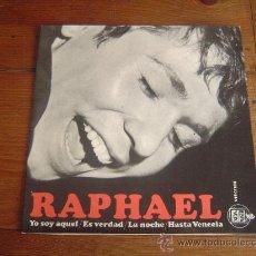 Discos de vinilo: SINGLE RAPHAEL.. Lote 30192543