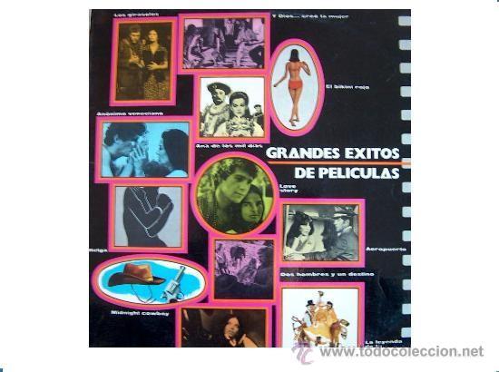 GRANDES EXITOS DE PELICULAS 1970 - BELTER- MORRICONE-VADIM-LEE MARVIN - MIDNIGHT COWBOY (Música - Discos - LP Vinilo - Bandas Sonoras y Música de Actores )