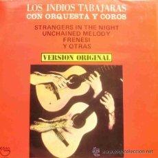 Disques de vinyle: LOS INDIOS TABAJARAS - CON ORQUESTA Y COROS - LP - RCA RECORDS 1970. Lote 30194827