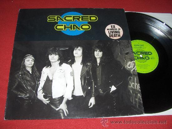 SACRED CHAO MLP AAARRG LIVING DEATH 4 CANCIONES (Música - Discos - LP Vinilo - Heavy - Metal)