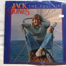 Discos de vinilo: JACK JONES - THE FULL LIFE . LP . 1977 RCA RECORDS AUSTRALIA. Lote 30275125