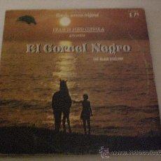 Discos de vinil: BSO EL CORCEL NEGRO.- COPPOLA.- LP EMI SPAIN 1980. Lote 30212550