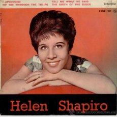 Discos de vinilo: HELEN SHAPIRO - I APOLOGISE - TELL ME WHAT HE SAID + 2 - EP FRANCE / EX / EX . Lote 88118586
