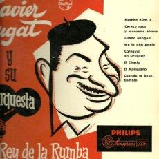 Disques de vinyle: XAVIER CUGAT 10¨ (25 CTMS.) DEL SELLO PHILIPS EDITADO EN ESPAÑA. . Lote 30218251