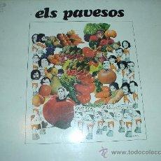 Discos de vinilo: ELS PAVESOS - EL PARDAL DE SANT JOAN... I LA BOLSERIA - LP DOBLE PORTADA. 1978. DISCO VINILO. Lote 30222447