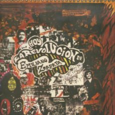 Discos de vinilo: LP LA REVOLUCION DE EMILIANO ZAPATA. Lote 30228873