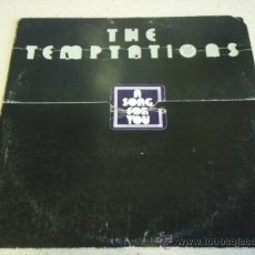 Discos de vinilo: THE TEMPTATIONS ' A SONG FOR YOU ' USA - 1975 LP33 MOTOWN RECORD. Lote 30231420