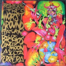Discos de vinilo: ROMILAR RECORDS - THE WORST AROUND -1990-CANCER MOON/LOS BICHOS/LA SECTA/LA PERRERA - UN SOLO USO. Lote 30231440