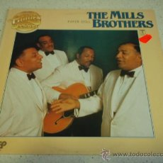 Discos de vinilo: THE MILLS BROTHERS ' PAPER DOLL ' THE GOLDEN LABEL 1981-HOLANDA LP33. Lote 30231855