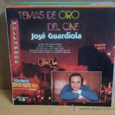 Dischi in vinile: JOSÉ GUARDIOLA - TEMAS DE ORO DEL CINE - OLYMPO L-205 - 1974. Lote 46920858