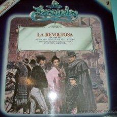 Discos de vinilo: VINILO. LP ZARZUELA-LA REVOLTOSA. DISCO VINILO. Lote 30235911