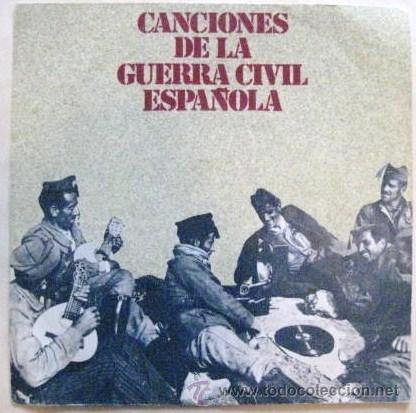 CANCIONES DE LA GUERRA CIVIL ESPAÑOLA. SINGLE 1978..ENVIO GRATIS¡¡¡ (Música - Discos - Singles Vinilo - Otros estilos)