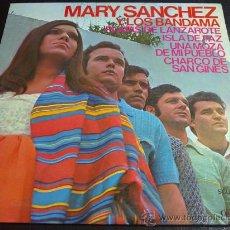 Discos de vinilo: MARY SÁNCHEZ Y LOS BANDAMA - PLAYAS DE LANZAROTE - FOLKLORE DE LAS ISLAS CANARIAS - EP. Lote 30249481