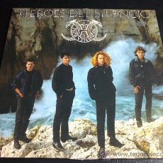 Discos de vinilo: HÉROES DEL SILENCIO (ENRIQUE BUNBURY) - FLOR VENENOSA - SINGLE DE LA CAJA DE SINGLES. Lote 30249551