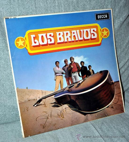 LOS BRAVOS - LP ALBUM VINILO 12' - EDITADO INGLATERRA / MADE IN ENGLAND - UK - 12 TEMAS - DECCA 1968 (Música - Discos - LP Vinilo - Grupos Españoles 50 y 60)