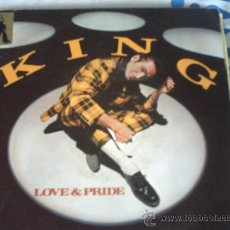 Disques de vinyle: KING LOVE & PRIDE - DON'T STOP /SINGLE PEPETO. Lote 30340786