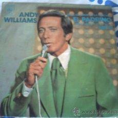 Discos de vinilo: ANDY WILLIAMS, EL PADRINO/SINGLE CBS 1972. Lote 30340994