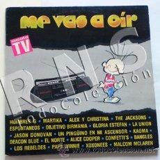 Discos de vinilo: DISCO DOBLE VINILO LP ME VAS A OIR MÚSICA POP ROCK ESPAÑA Y NO ESPAÑOLES AÑOS 80 HOMBRES G UNIÓN. Lote 30257242