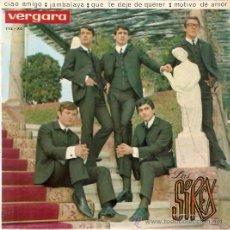 Discos de vinilo: EP LOS SIREX CIAO AMIGO - JAMBALAYA - QUE TE DEJE DE QUERER - MOTIVO DE AMOR. Lote 30258072