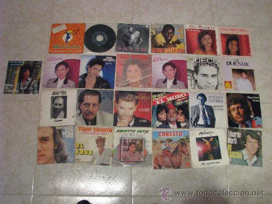 LOTE 25 SINGLE 45 RPM /// SOLISTAS ESPAÑOLES (Música - Discos - Singles Vinilo - Solistas Españoles de los 70 a la actualidad)