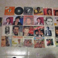 Discos de vinilo: LOTE 25 SINGLE 45 RPM /// SOLISTAS ESPAÑOLES. Lote 30259743