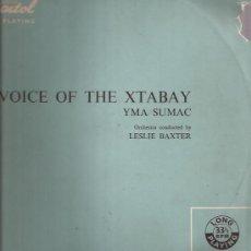 Discos de vinilo: LP-25 CTMS-YMA SUMAC-VOICE OF XTABAY-CAPITOL 6522-UK-195???. Lote 30261110