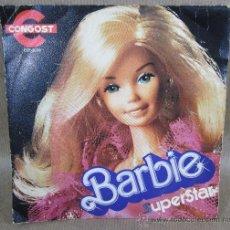Discos de vinilo: SINGLE DE BARBIE SUPERSTAR,CONGOST,AÑO 1979. Lote 30265239