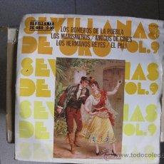 Discos de vinilo: VARIOS - SEVILLANAS DE ORO VOL. 9 Y 10 - DOBLE LP HISPAVOX 1989 BPY. Lote 32034975