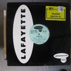 Discos de vinilo: TAMSIN - WATCH IT - MAXI LAFAYETTE 1992 (HOUSE, DEEP HOUSE) BPY. Lote 32035850