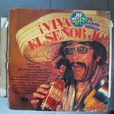 Discos de vinilo: JO MENT'S HAPPY SOUND - VIVA EL SEÑOR JO / 28 EXITOS LATINOS - LP ARIOLA 1972 BPY. Lote 32094345