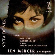 Discos de vinilo: NYTA DOVER - LE RIFIFI - DANS LA VIE + 2 - EP SPAIN EX / EX. Lote 30274842