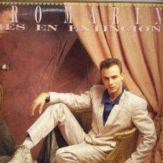 Discos de vinilo: PEDRO MARIN. MAXI 12´´45 RPM. ESPECIE EN EXTINCION+LOCO NO ESTOY. HISPAVOX 1986. Lote 30276676