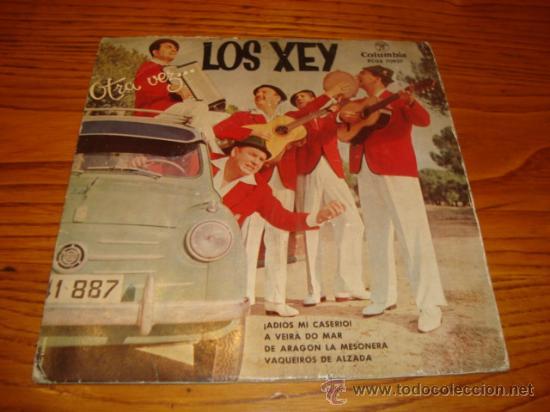 EP DE LOS XEY - OTRA VEZ... (AÑO 1958) (Música - Discos de Vinilo - EPs - Otros estilos)
