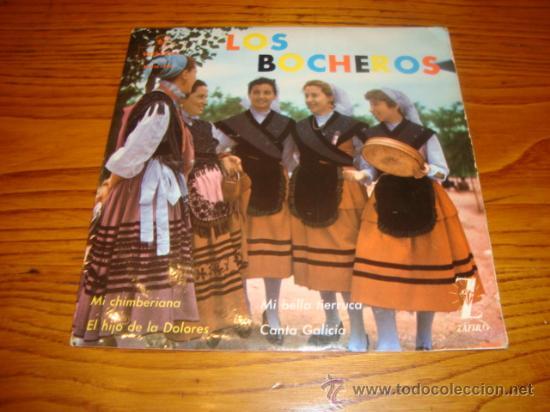 EP DE LOS BOCHEROS. (AÑO 1962) (Música - Discos de Vinilo - EPs - Otros estilos)