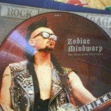 Discos de vinilo: ZODIAC MINDWARP PICTURE DISC. Lote 30284867