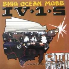 Discos de vinilo: BIGG OCEAN MOBB IV-1-5 – GHETTO RADIO - MAXI RCA – 9175-1-RD - US 1990 - L17-*2. Lote 30286826