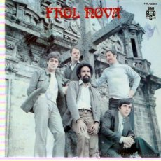 Discos de vinilo: EP FROL NOVA - POTPORRI GALLEGO-CANTO POPULAR- TROULADA DE SADA- TEÑO UN AMOR EN RIANXO. Lote 30288128
