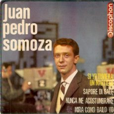 Discos de vinilo: EP JUAN PEDRO MENDOZA - SI YO TUVIERA UN MARTILLO-SAPORE DI SALE-NUNCA ME ACOSTUMBRARE-MIRA COMO BAI. Lote 30288164