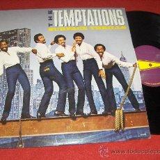 Discos de vinilo: THE TEMPTATIONS SURFACE THRILLS LP 1983 GORDY USA . Lote 30290734