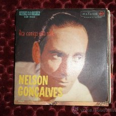 Discos de vinilo: NELSON GONÇALVES. EP .FICA COMIGO ESTA NOITE. RCA VICTOR. EDICION BRASILEÑA. Lote 30292340
